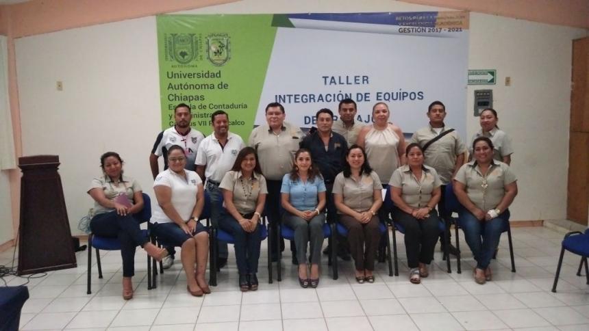 CURSO TALLER TRABAJO EN EQUIPO PICHUCALCO