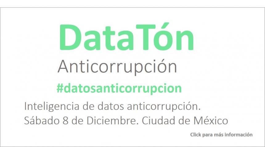 DATATÓN ANTICORRUPCIÓN